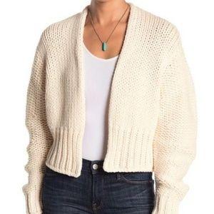Free people Women's cardigan sweater SMALL